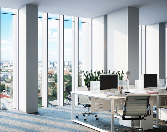 """Office microclimate in """"ARENA TOWER"""" business center"""